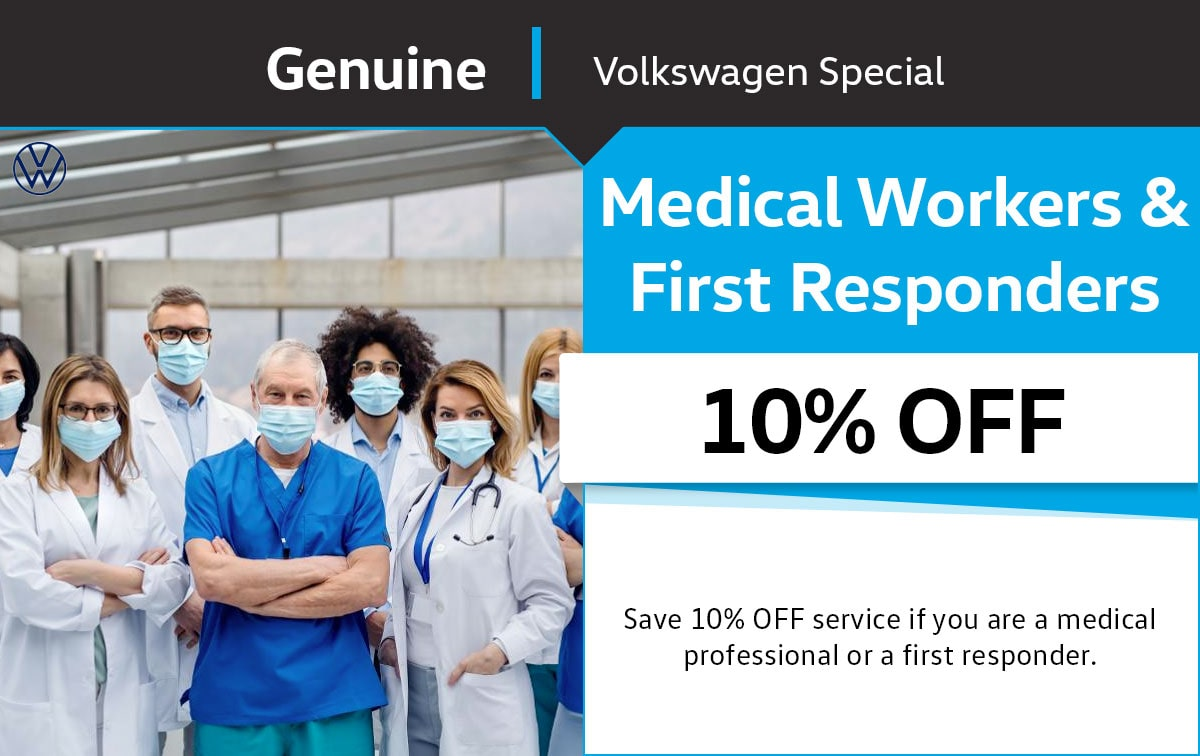 VW First Responders Special Coupon