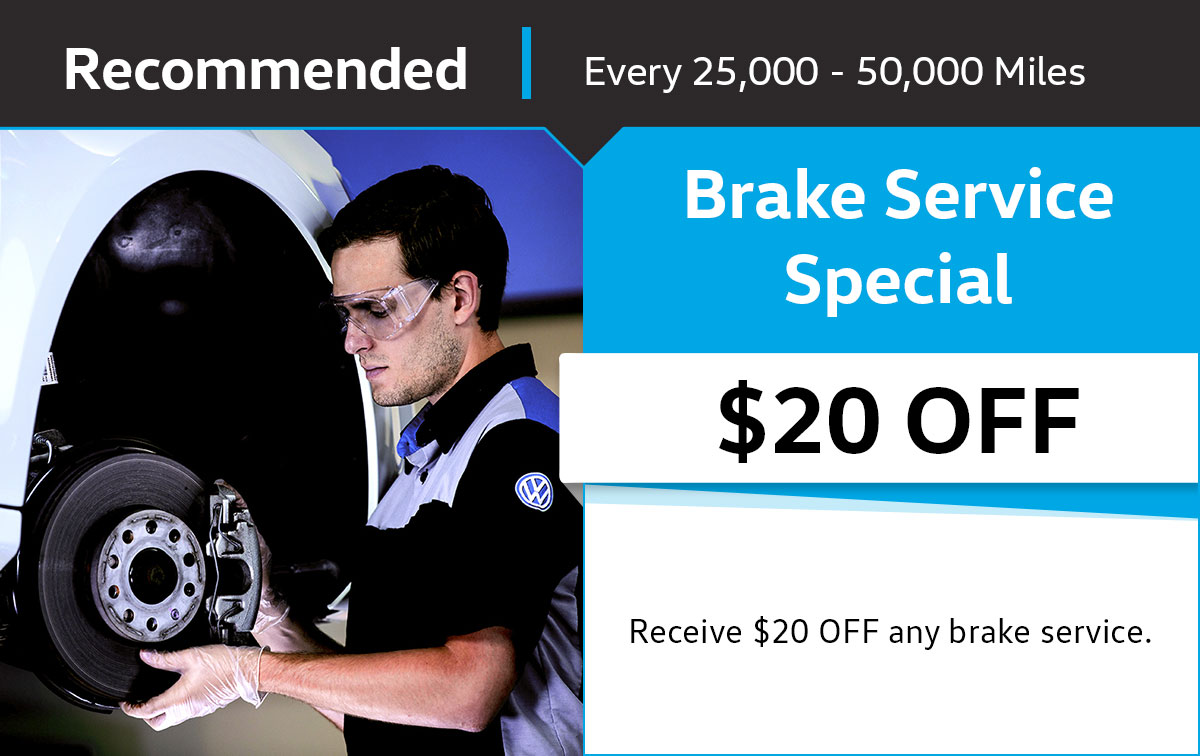 Brake Service Special Coupon