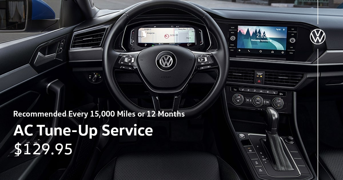 Volkswagen AC Tune-Up Service Special Coupon