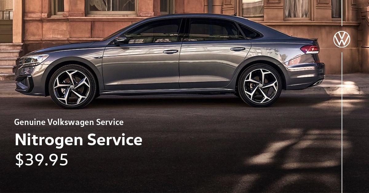 Volkswagen Nitrogen Service Special Coupon