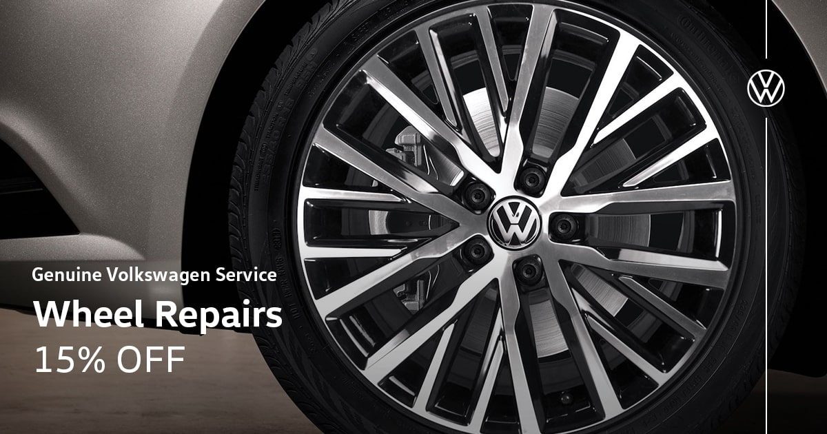 Volkswagen Wheel Repairs Service Special Coupon