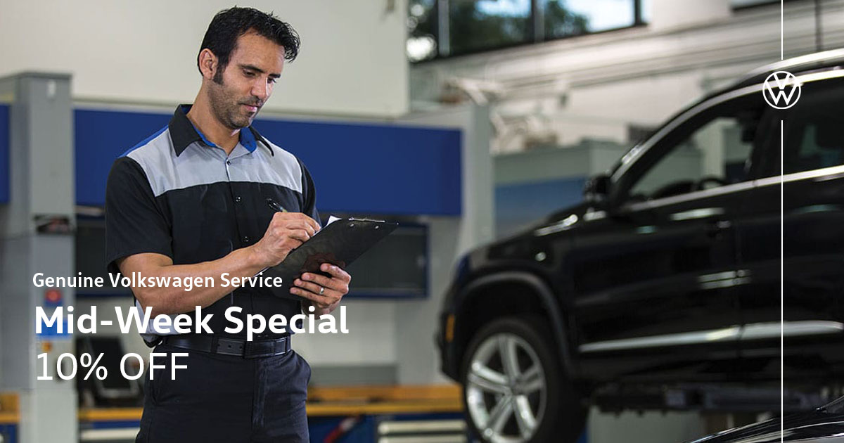 Volkswagen Military & First Responder Service Special Coupon
