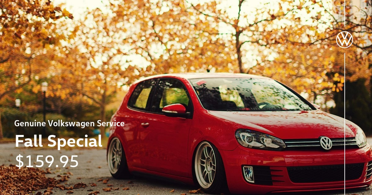 Volkswagen Fall Service Special Coupon