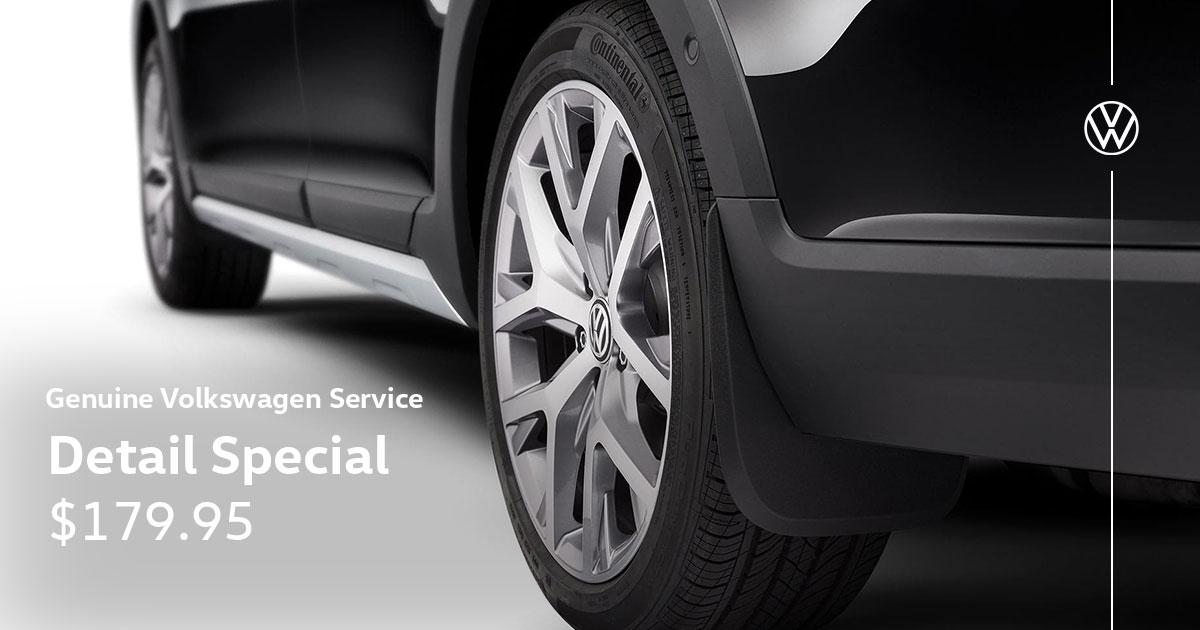 Volkswagen Detail Service Special Coupon