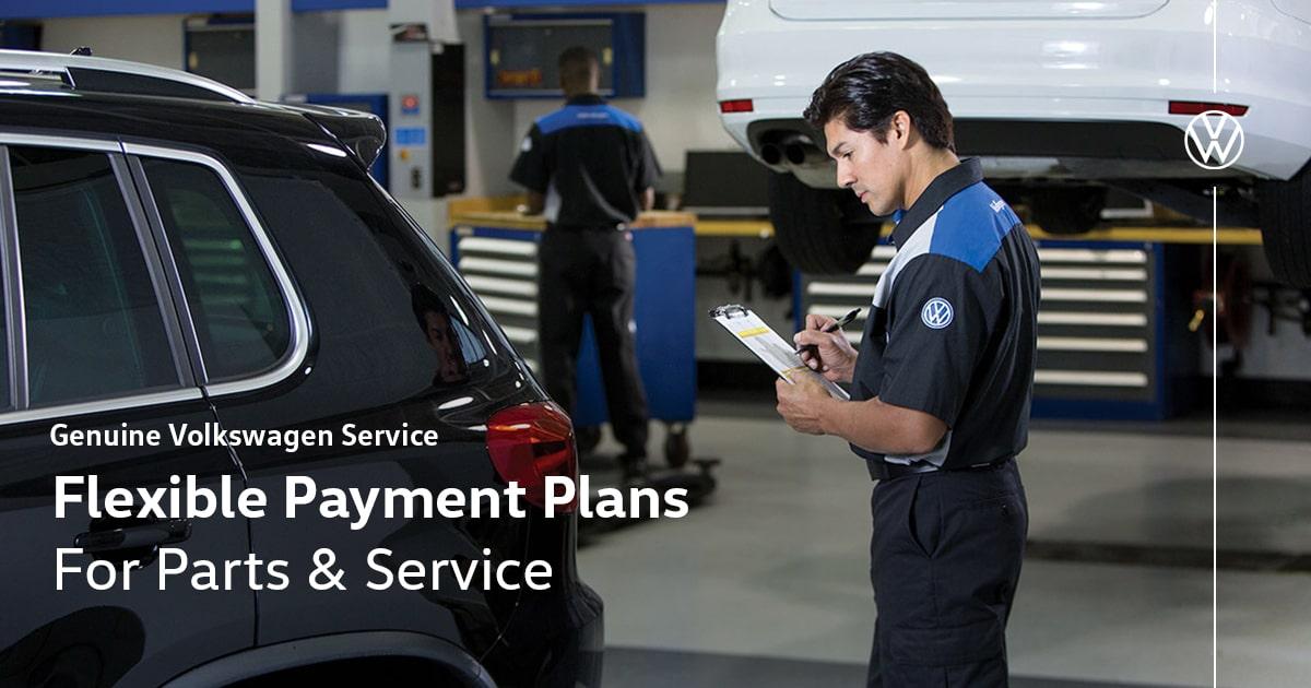 Volkswagen Flexible Payment Plans for Auto Parts & Service Special Coupon
