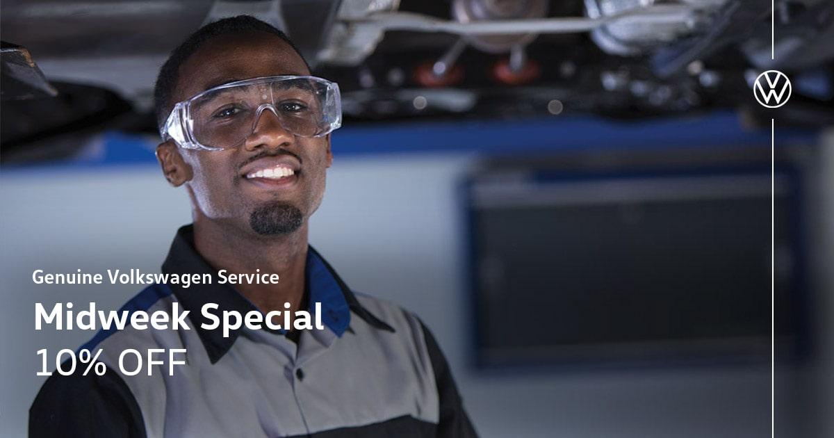 Volkswagen Mid Week Special Coupon