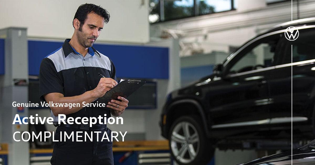 Volkswagen Active Reception Service Special Coupon
