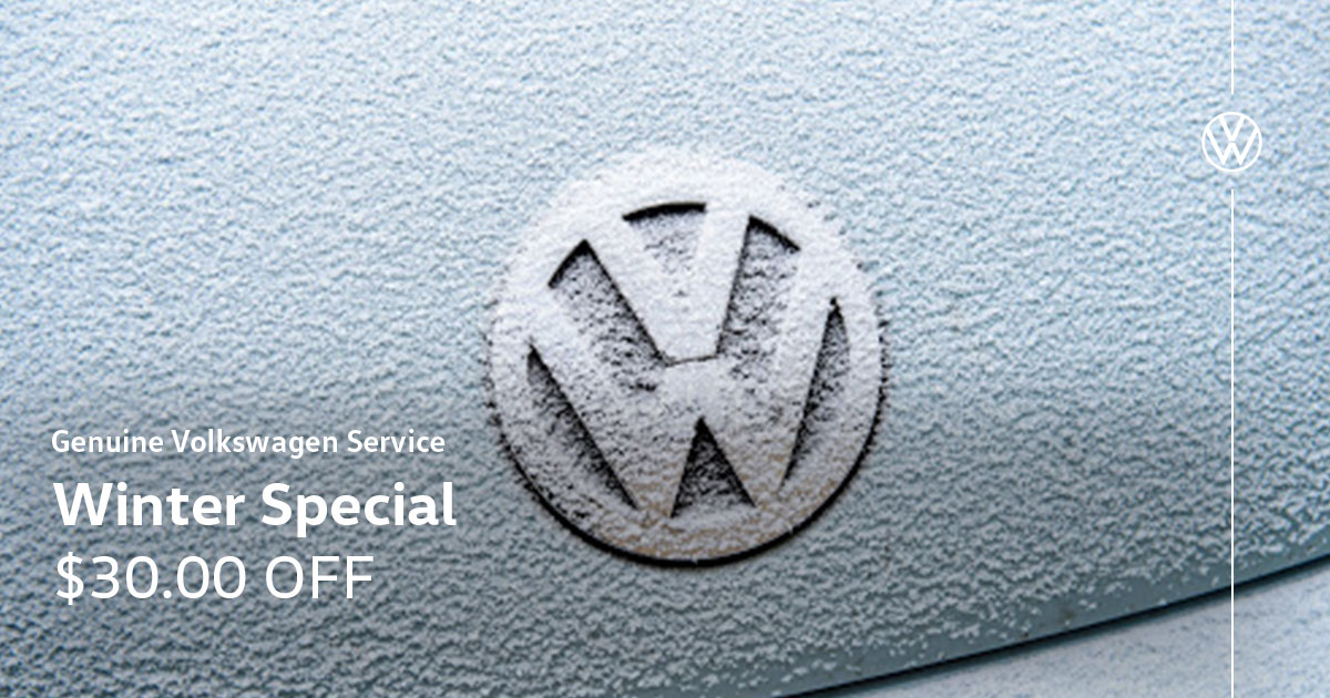 Volkswagen Winter Service Special Coupon