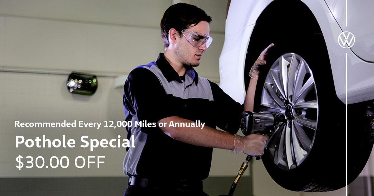 Volkswagen Alignment Service Special Coupon
