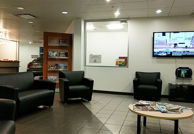 Germain Volkswagen Waiting Lounge