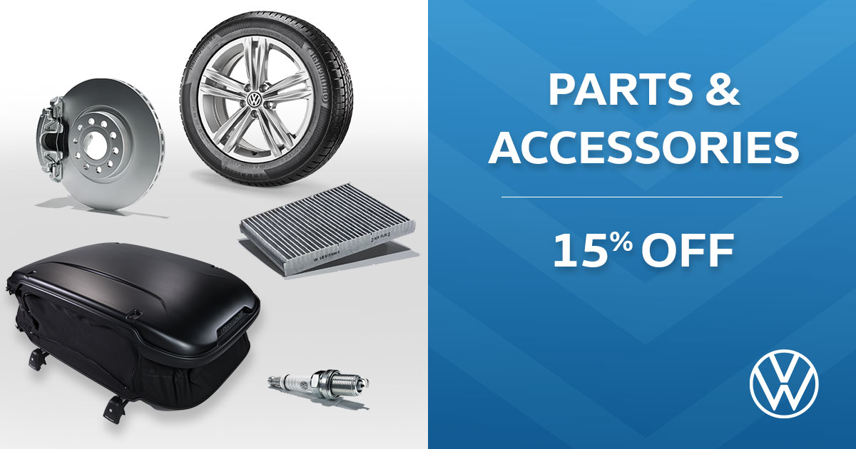 Volkswagen Parts & Accessories Special Coupon
