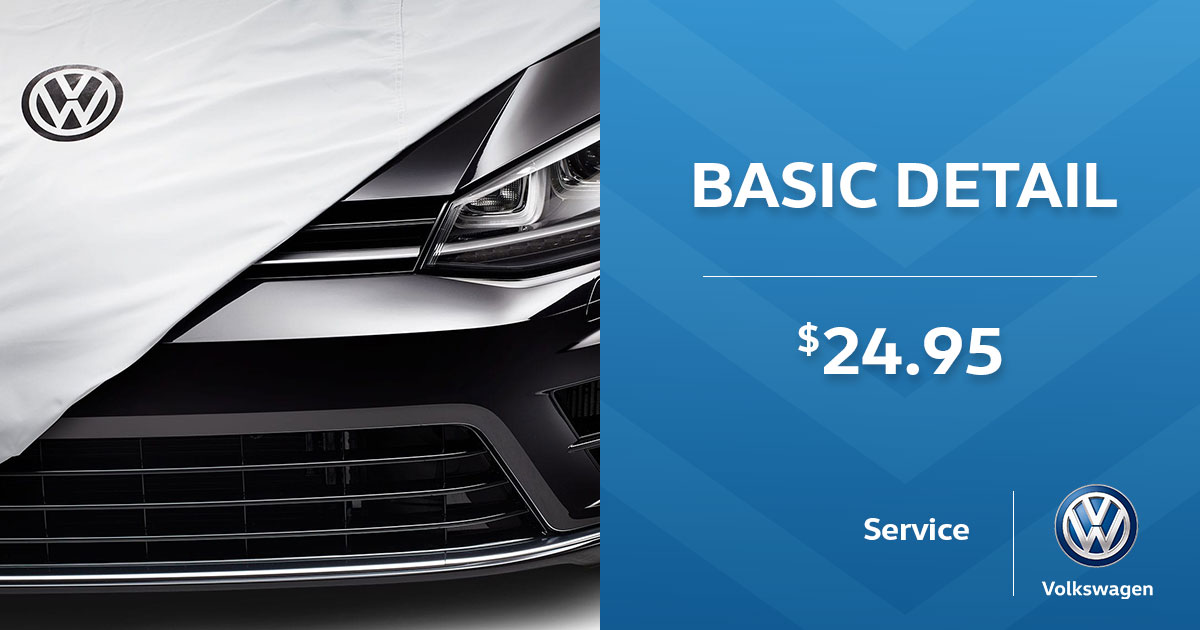 Volkswagen Mini Detail Service Special Coupon