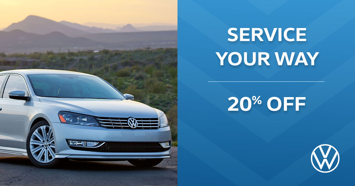 Volkswagen Service Your Way Special Coupon
