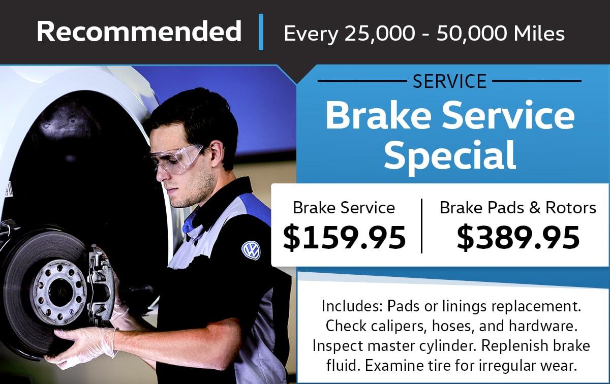Brake Service Special Coupon