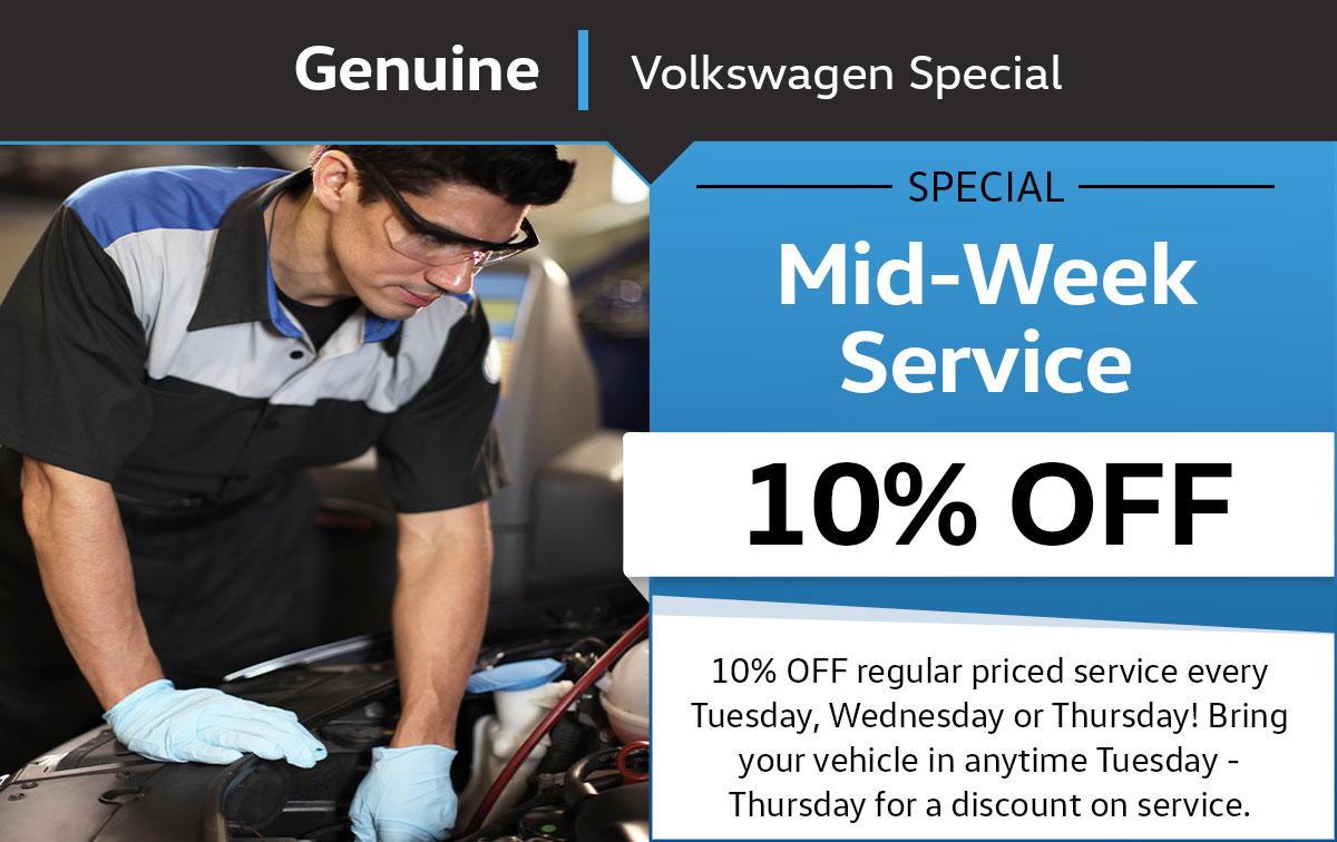 Mid-Week Service Special Coupon
