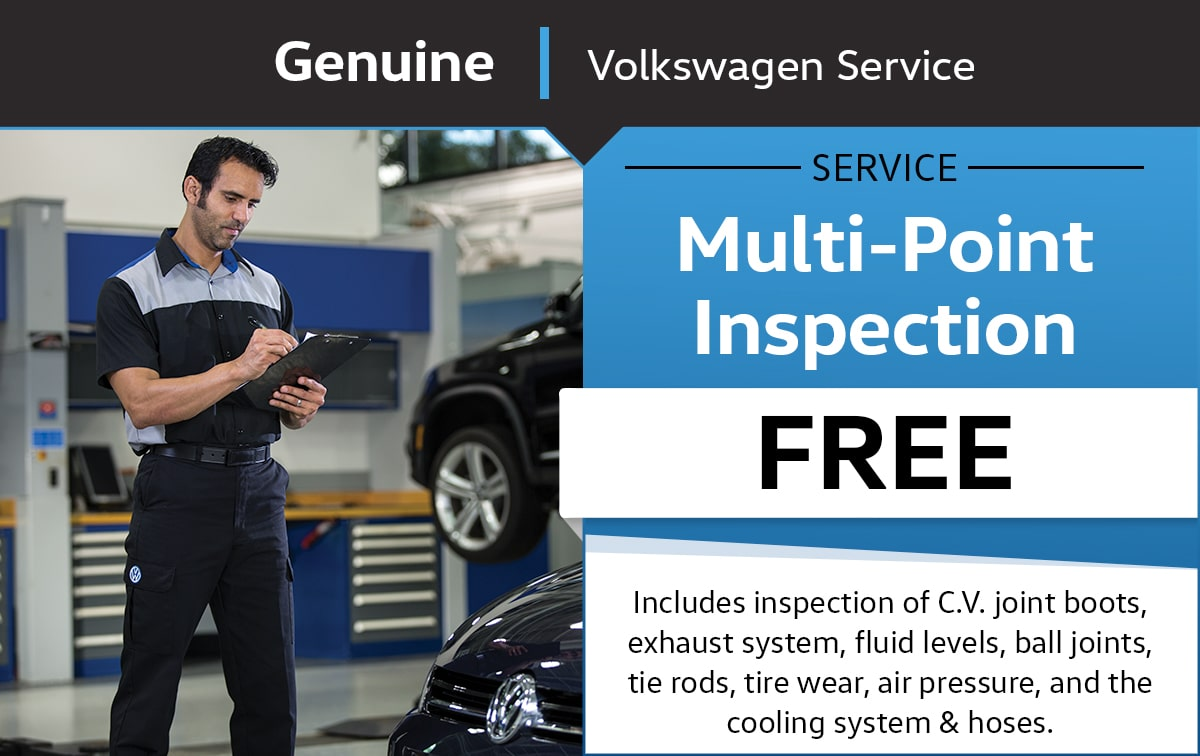 Volkswagen Multi-Point Inspection Service Special Coupon