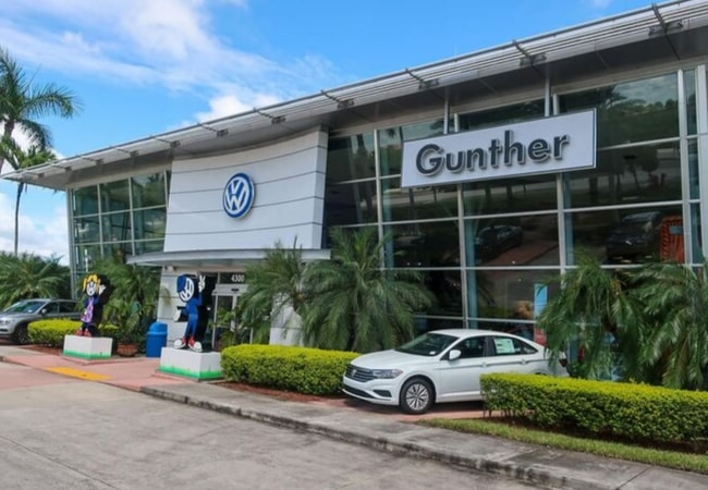 Gunther VW Amenities
