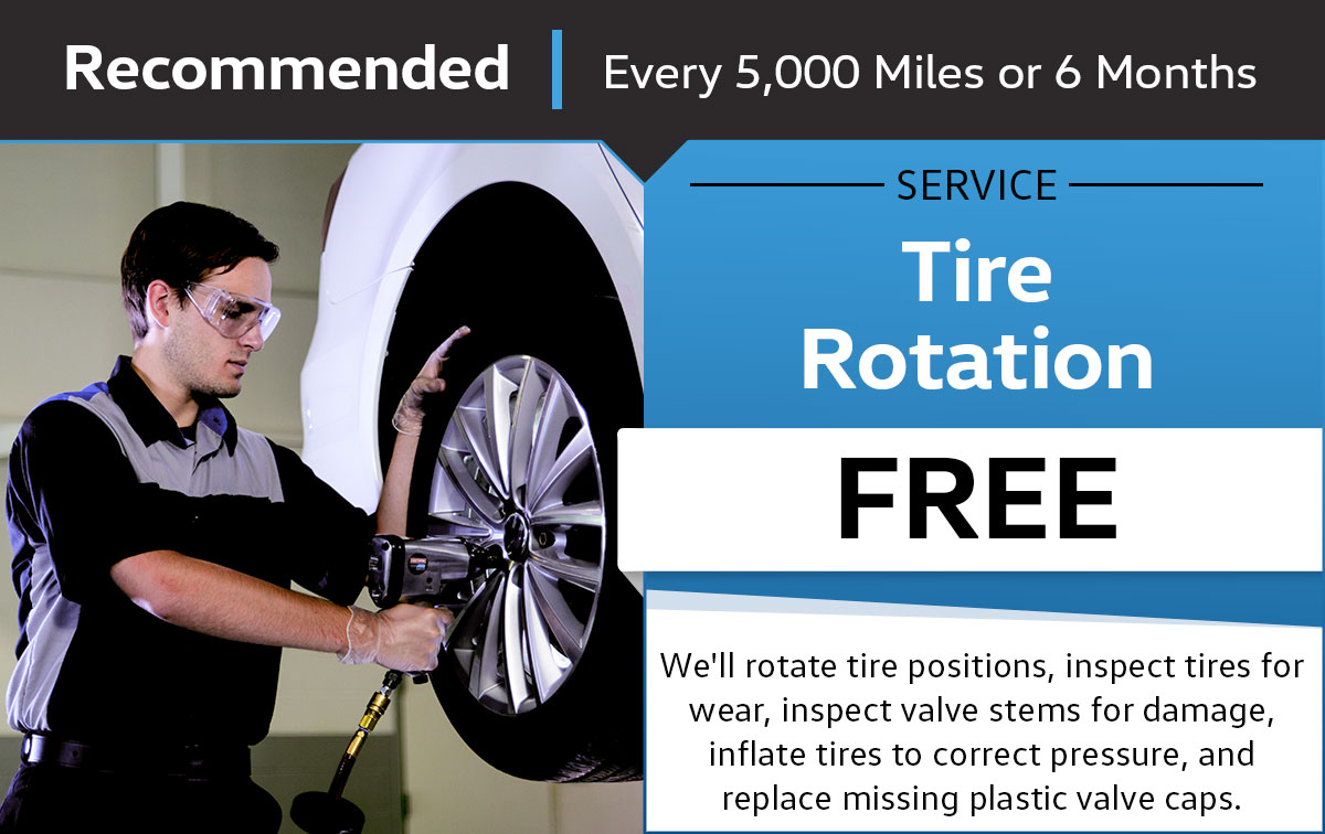 VW Tire Rotation Service Special Coupon