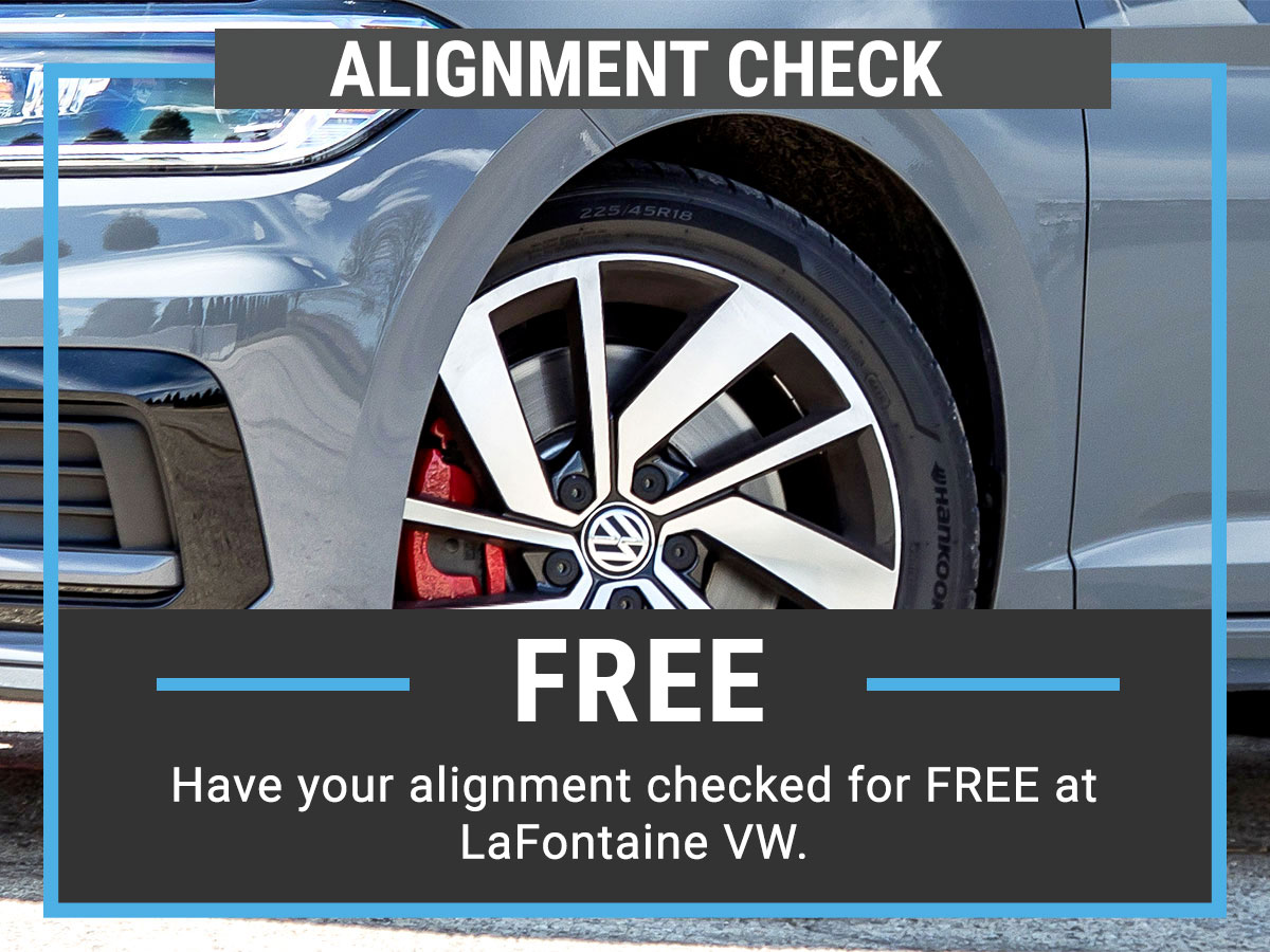 Volkswagen Alignment Check Service Special