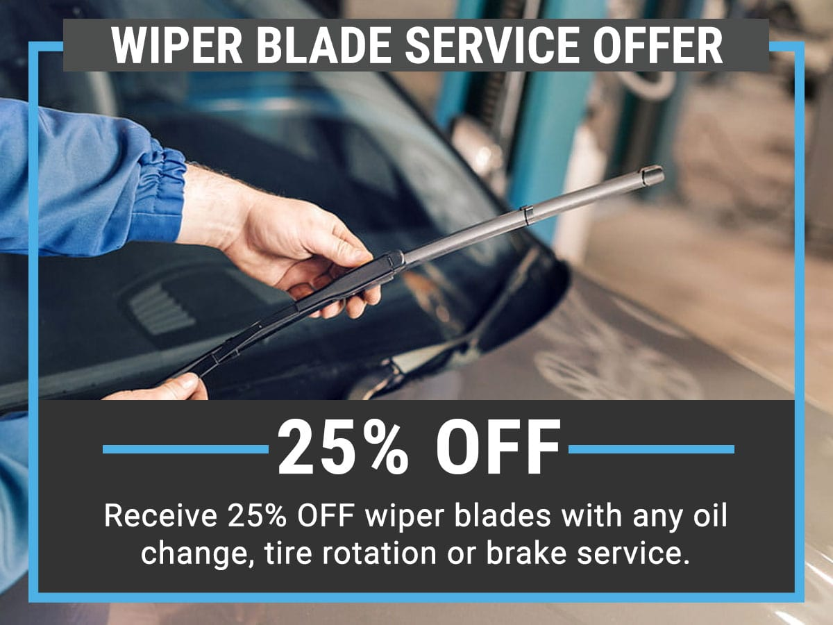 VW Wiper Blade Service Offer Coupon