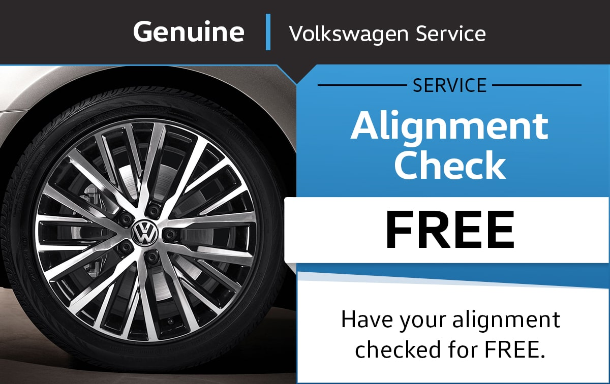 Volkswagen Alignment Check Service Special Coupon