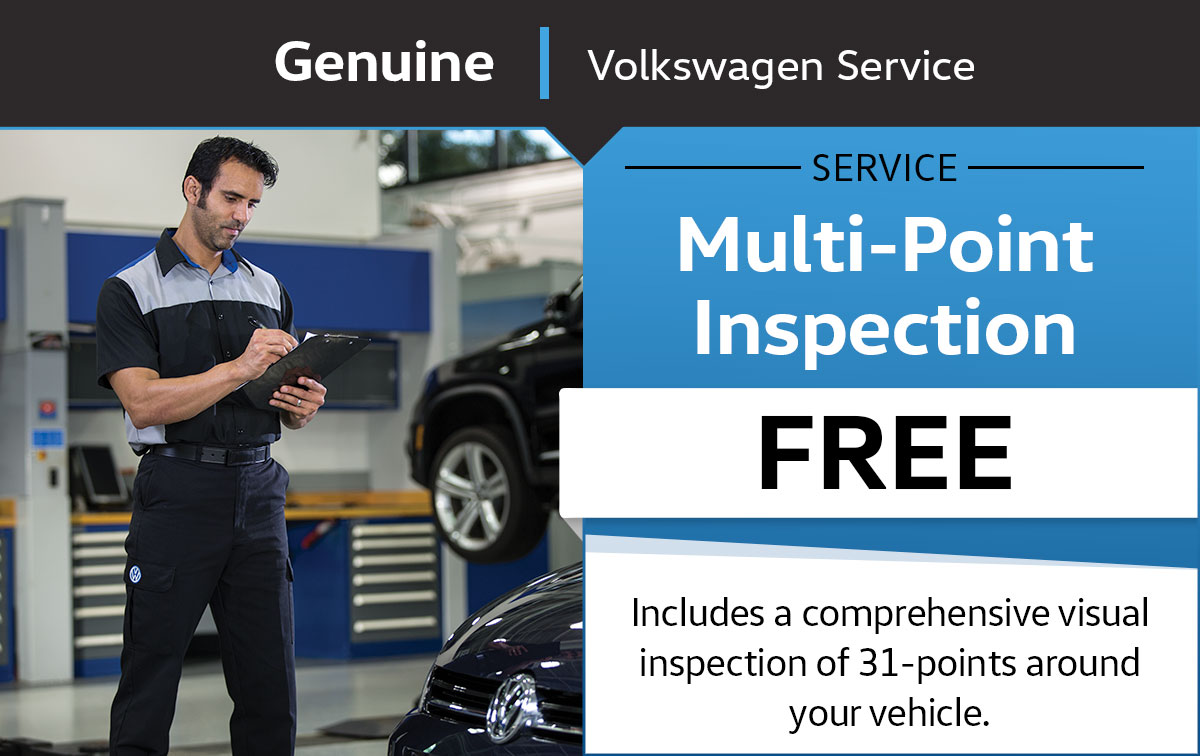 VW Multi-point Inspection Service Special Coupon