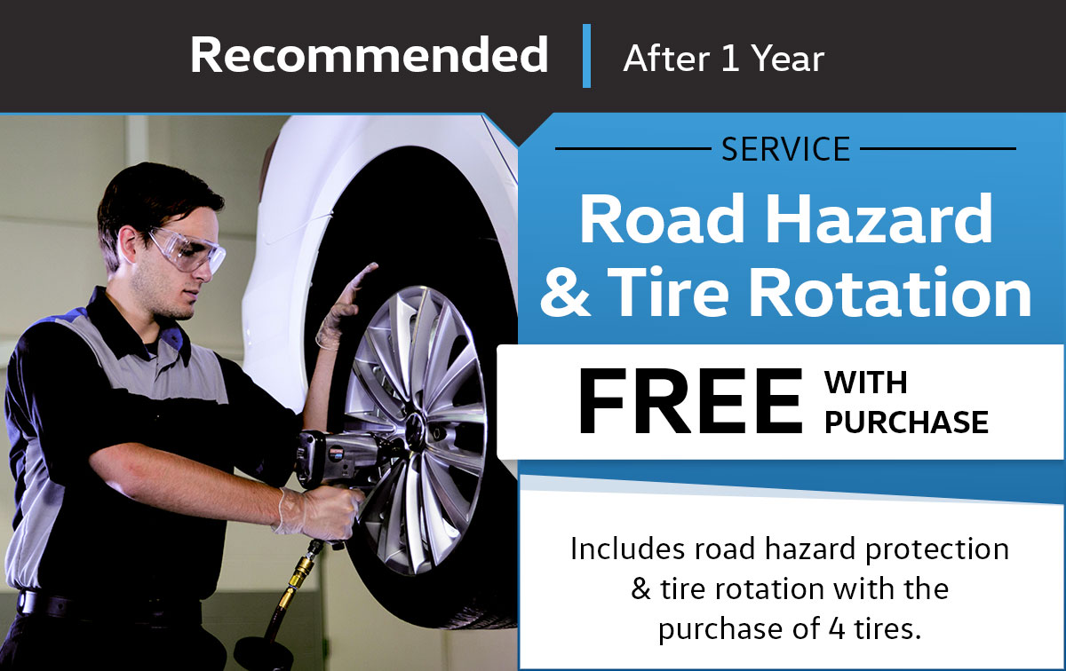 VW Road Hazard & Tire Rotation Service Special Coupon