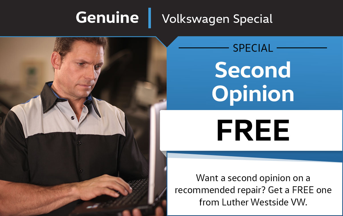 VW Second Opinion Service Special Coupon
