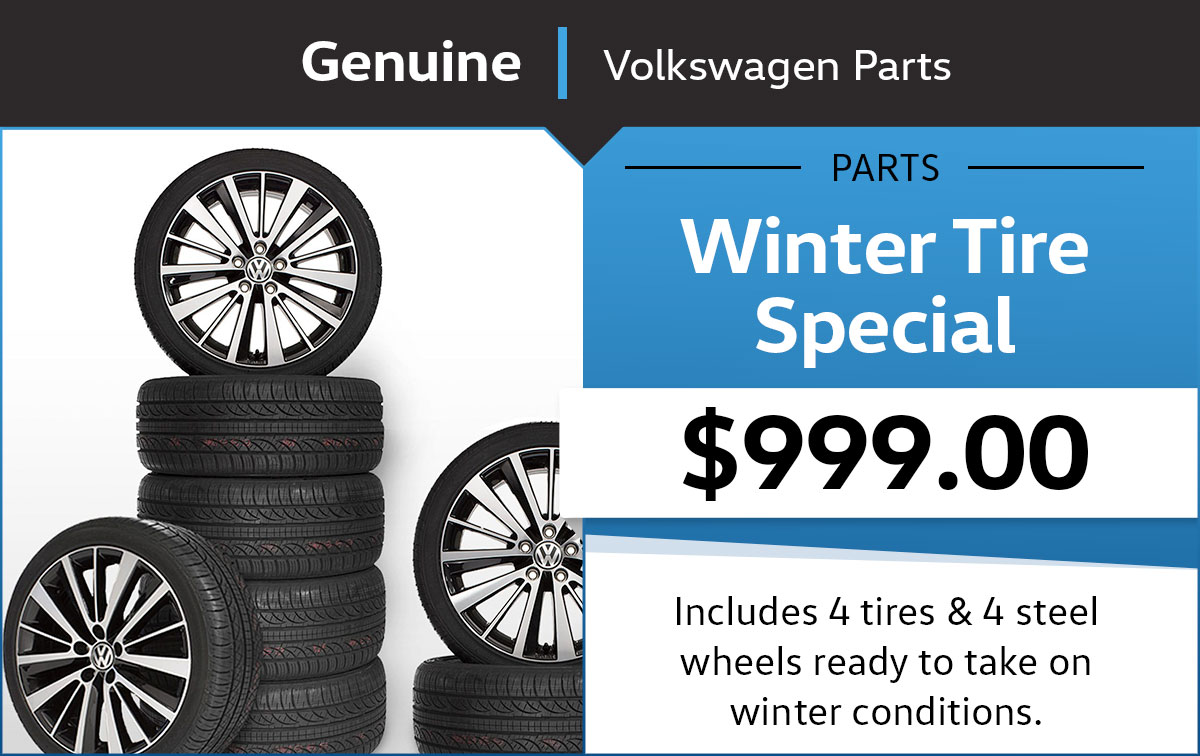 VW Winter Tire Special Coupon