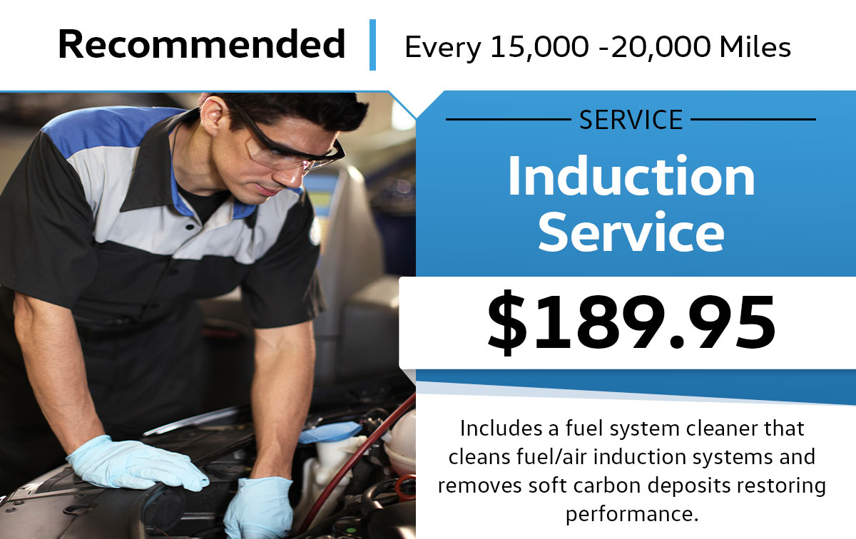 VW Induction Service Special Coupon