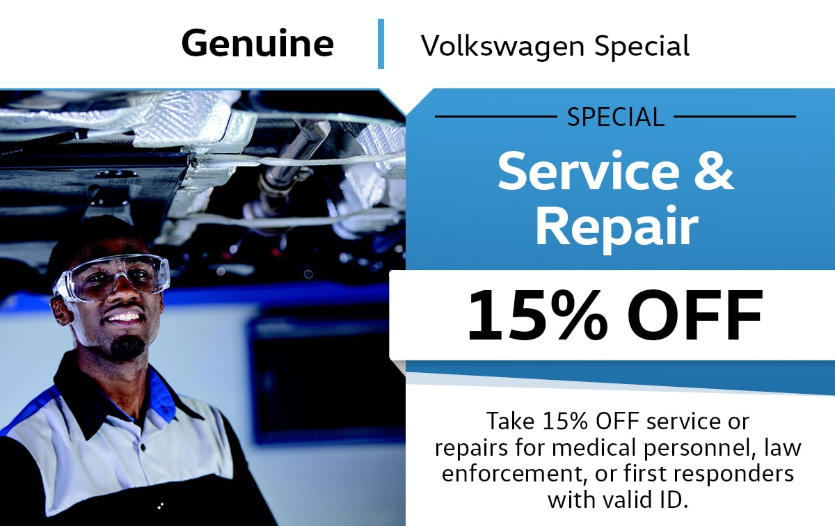 VW Full Synthetic Oil Change Rebate Service Special Coupon