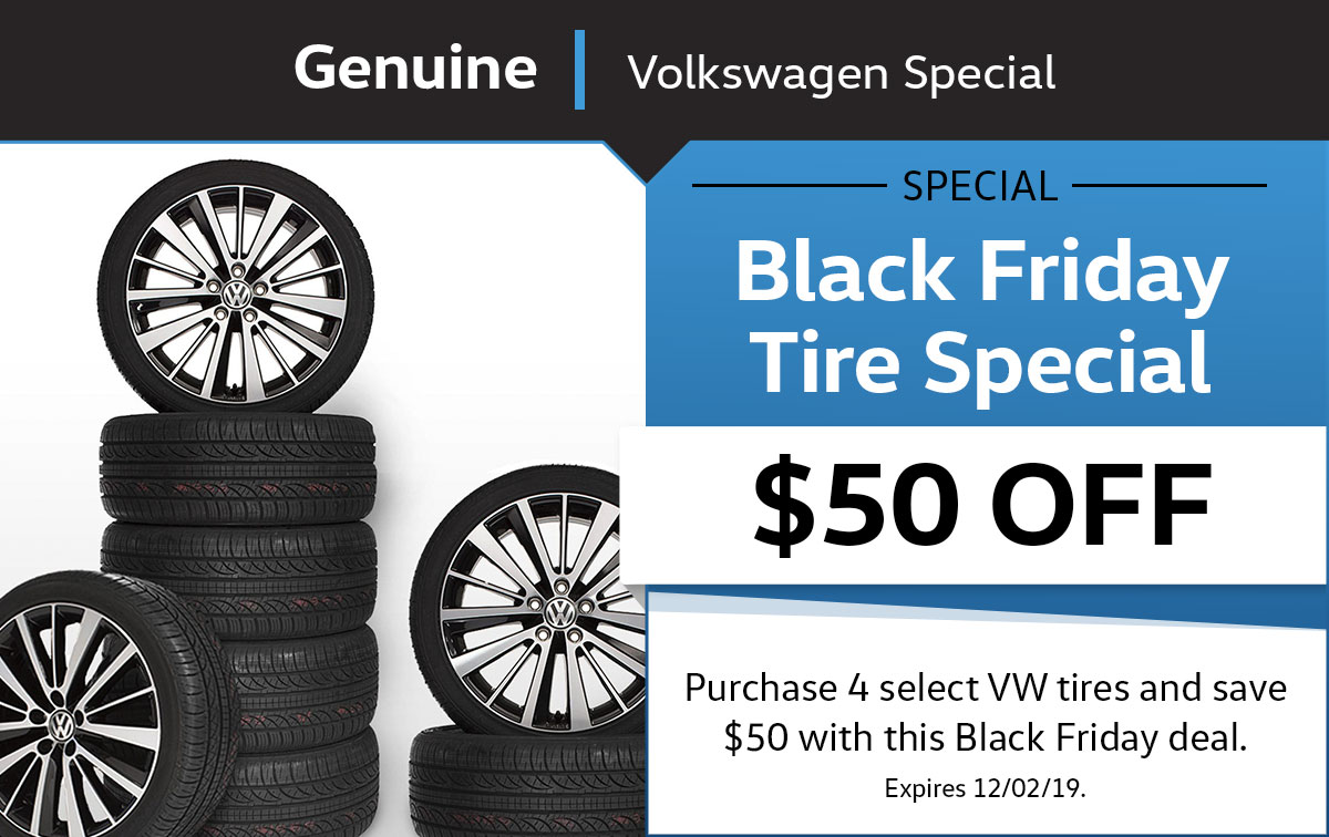 VW Black Friday Service Special Coupon