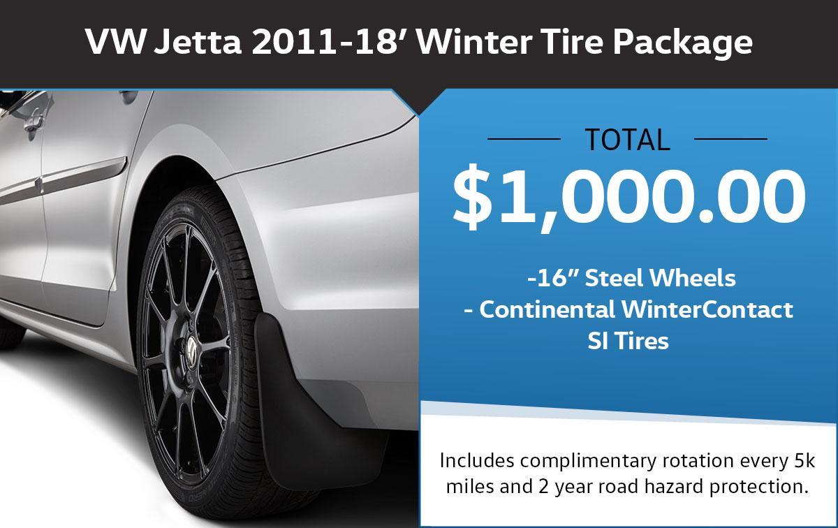 VW Jetta Winter Tire Package