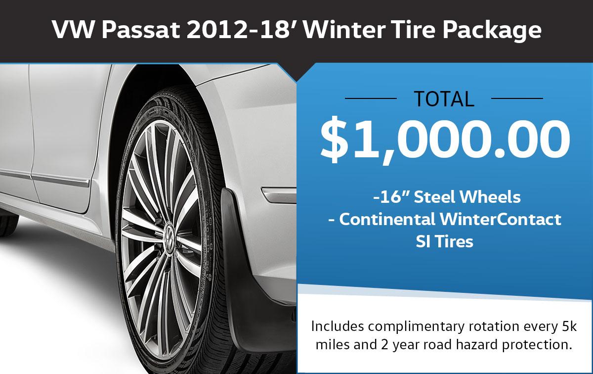 VW Passat Winter Tire Package