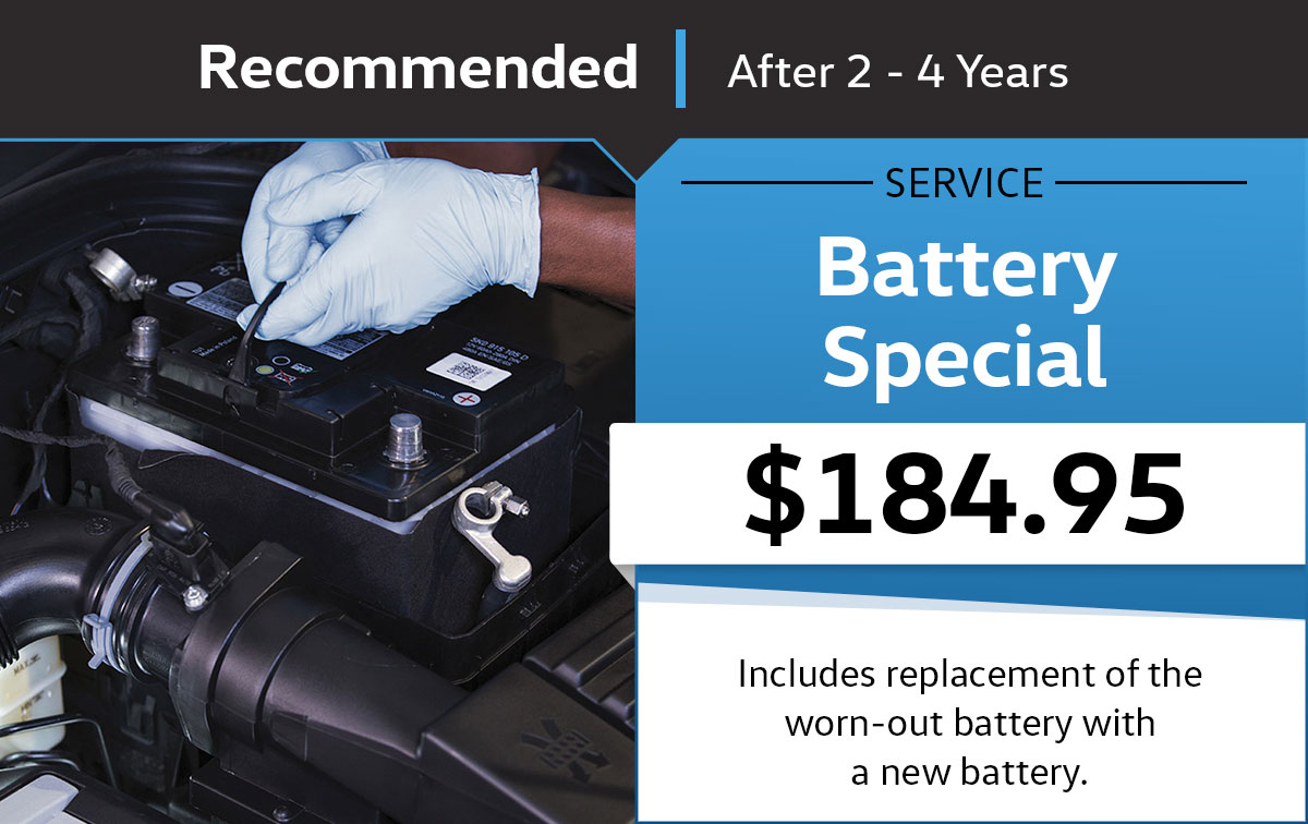 VW Battery Service Special Coupon