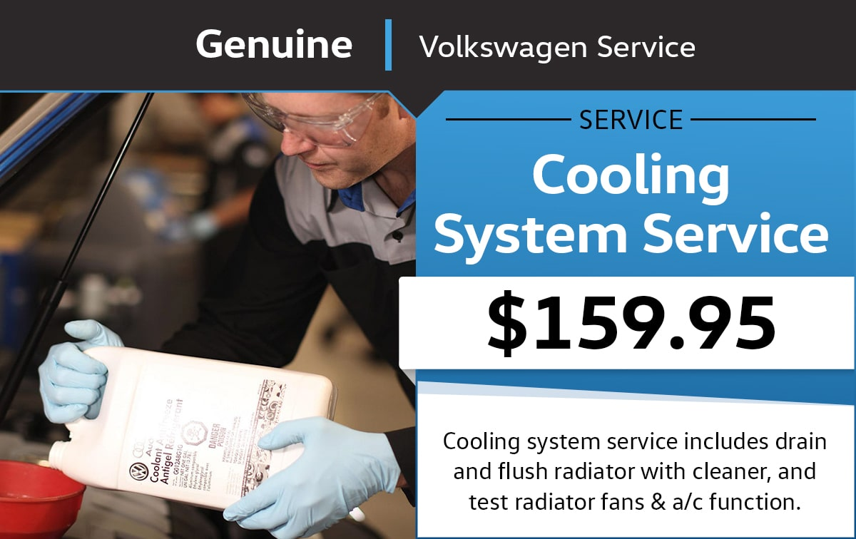 VW Cooling System Service Special Coupon