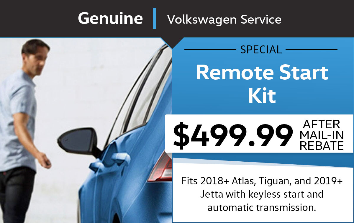 VW Remote Start Kit Service Special Coupon