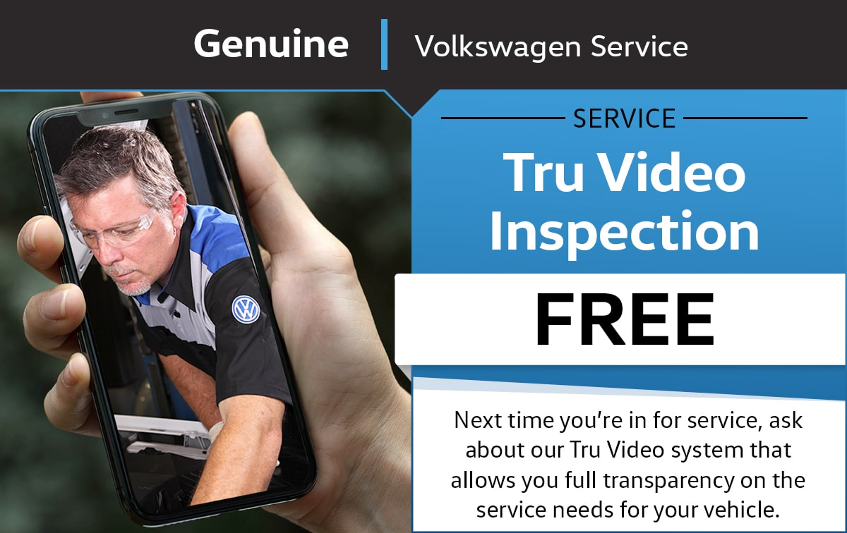VW Tru Video Inspection Service Special Coupon