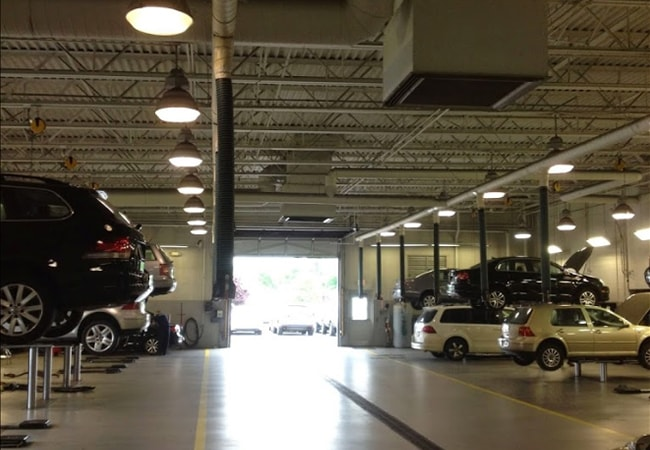 North Penn VW Service Bay