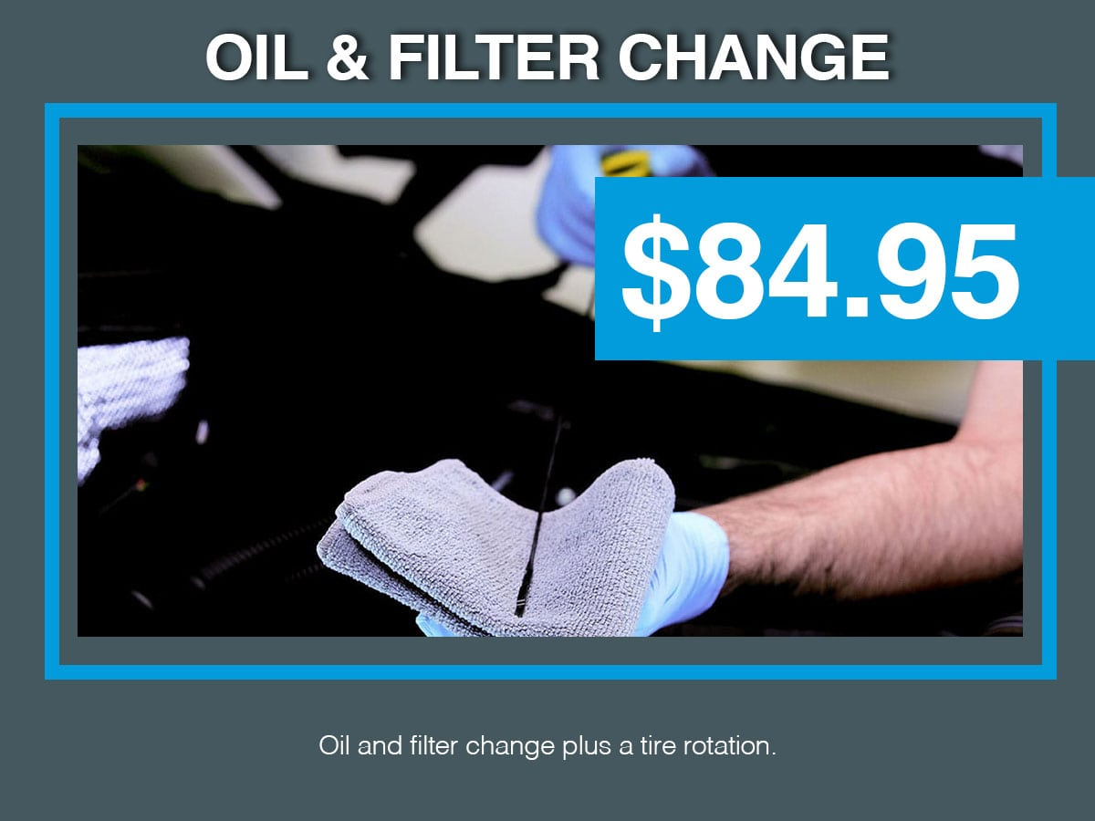 Volkswagen Oil Changes Special Coupon