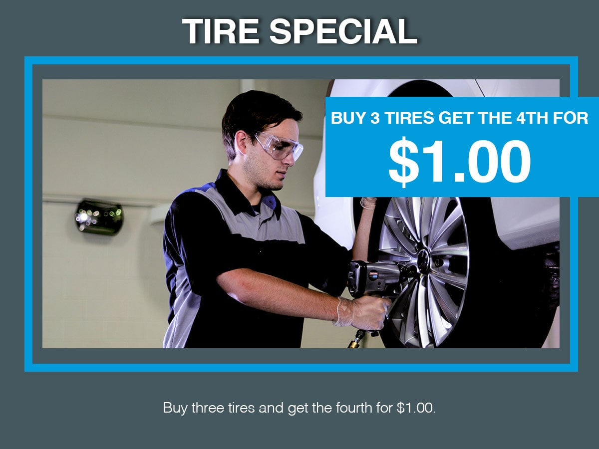 Tire Special Coupon