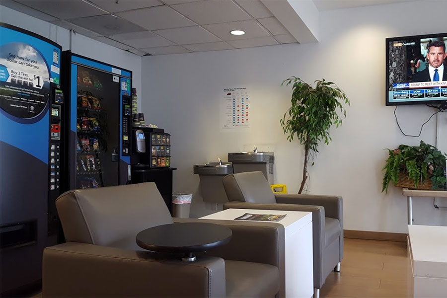 South Bay Volkswagen Waiting Area