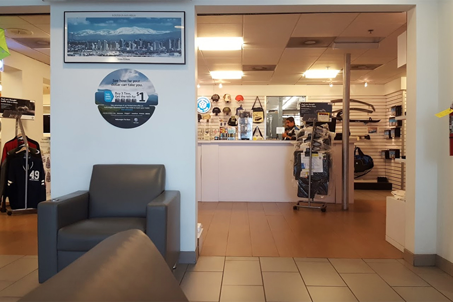 South Bay Volkswagen Accessories Department