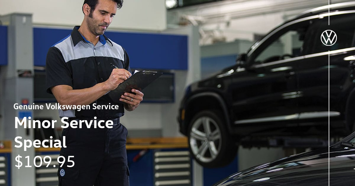 Volkswagen Minor Service Special Coupon