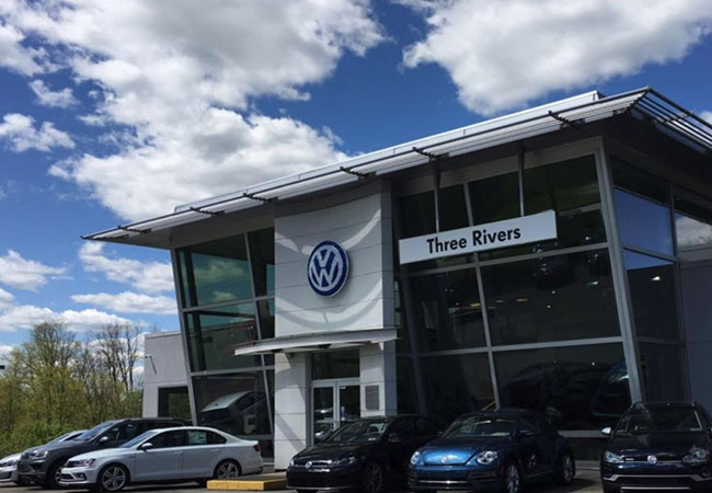 Three Rivers VW Exterior