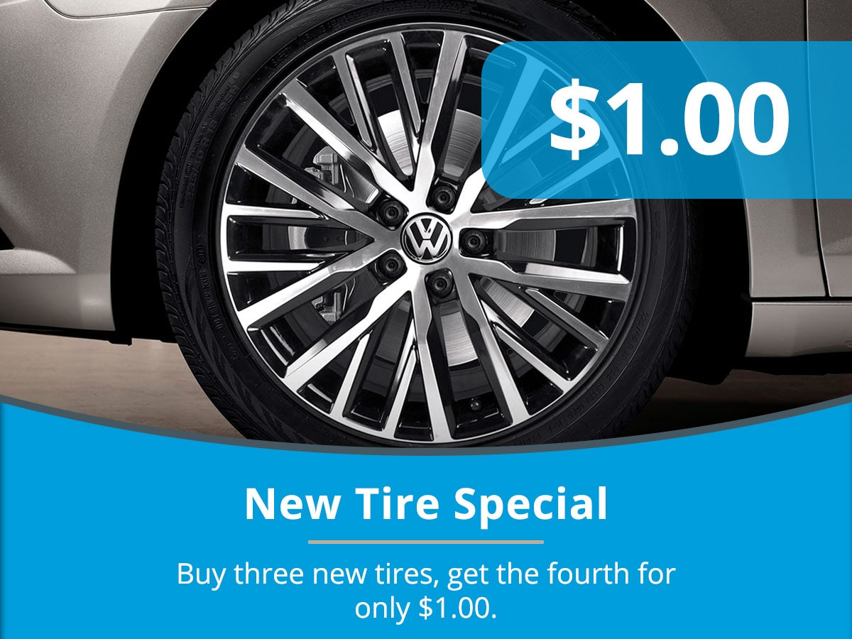 New TireService Special Coupon