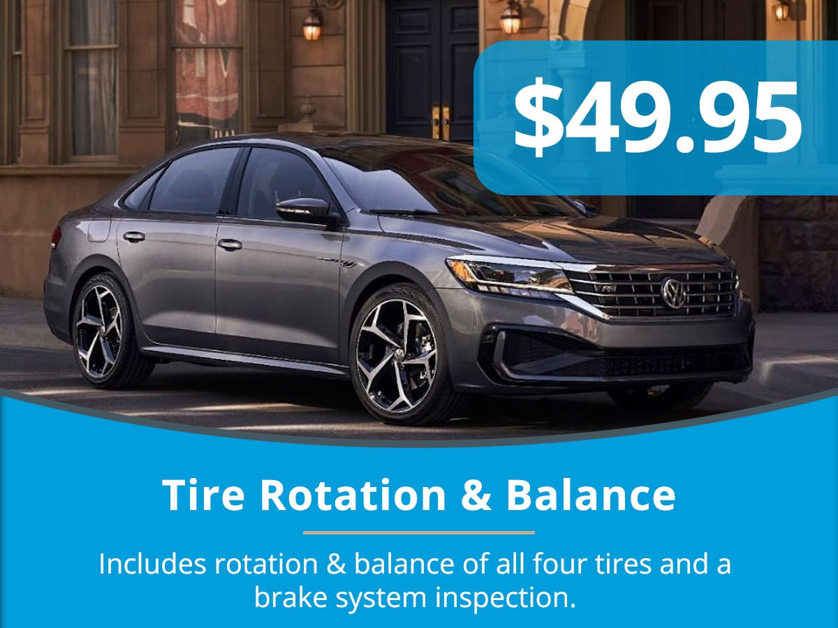 Tire Rotation & Balance Service Special Coupon