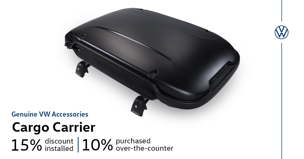 Volkswagen Cargo Carrier Accessory Special Coupon