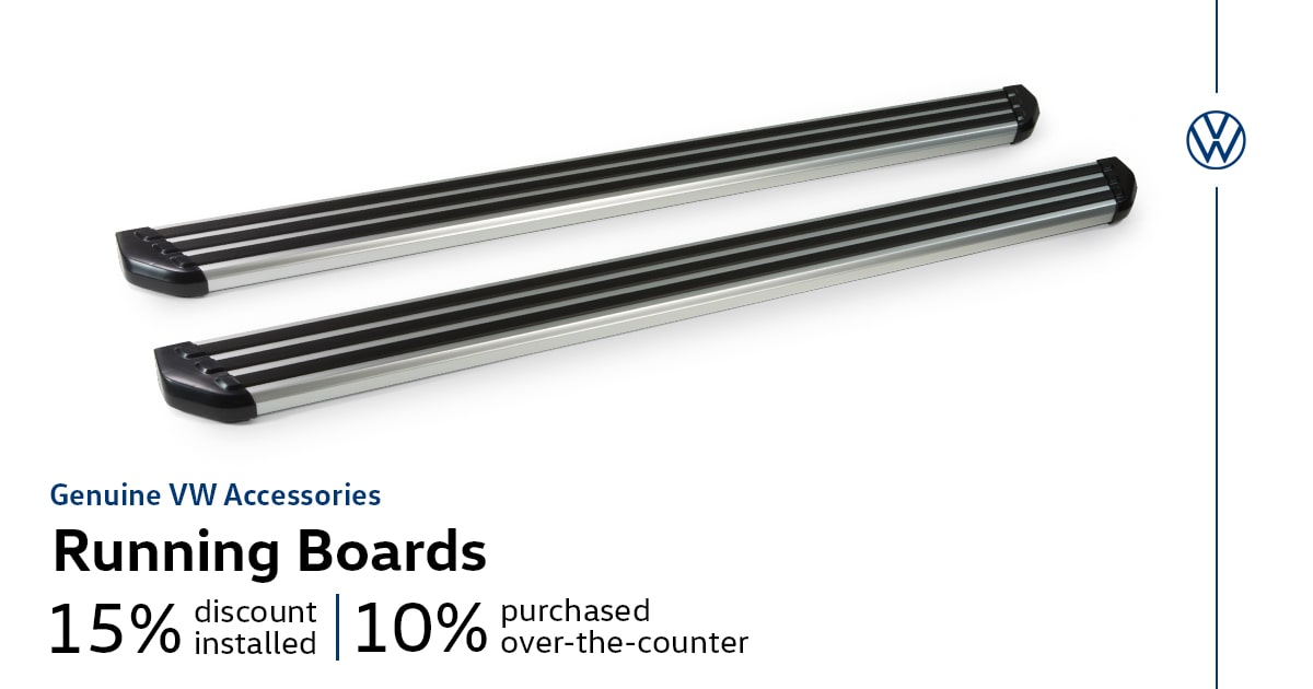 Volkswagen Running Boards Accessory Special Coupon