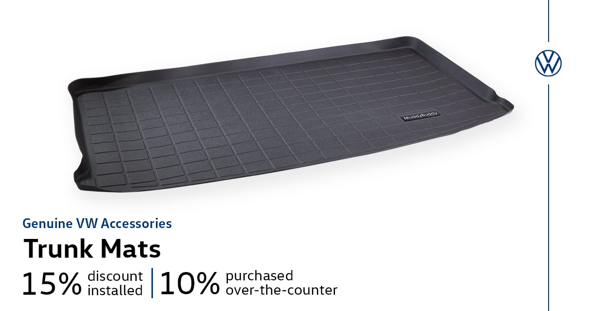 Volkswagen Trunk Mats Accessory Special Coupon